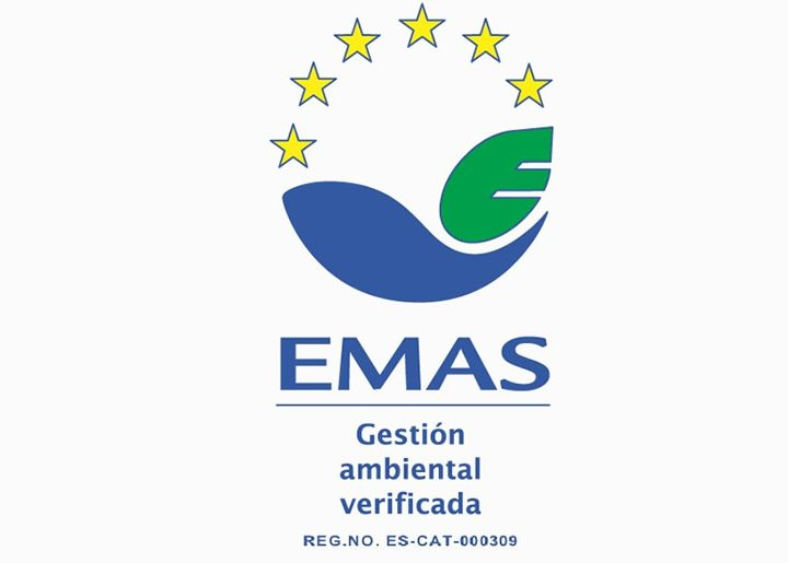 EMAS (Eco-Management and Audit Scheme) Certificate